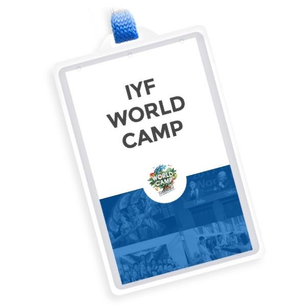บัตรเข้าร่วม IYF World Camp 2019